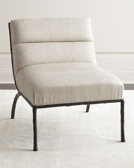 Bernhardt Shiro Channel-Tufted Chair