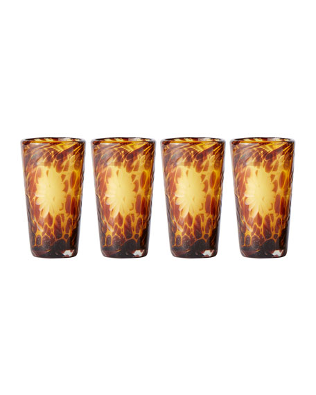 Jan Barboglio El Jefe Tall Shot Glasses, Set
