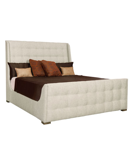 Bernhardt Continental Tufted King Bed