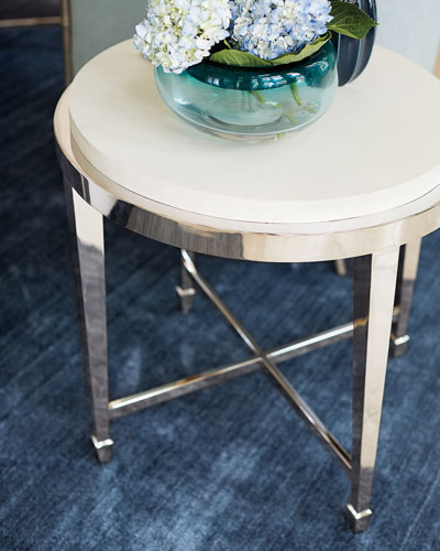 Lannie Round End Table
