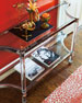 Image 1 of 3: Salon Stainless Steel Console Table