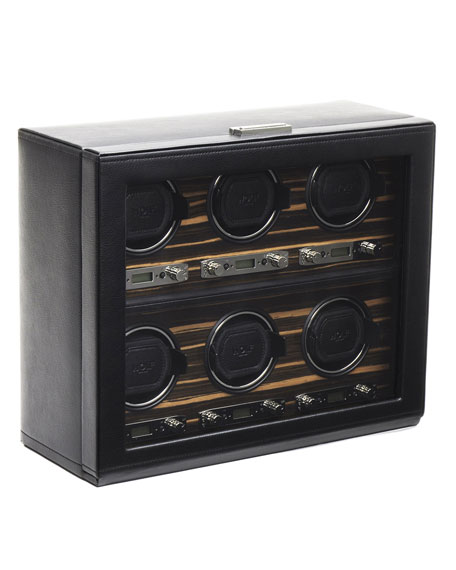 WOLF Roadster 6-Piece Watch Winder