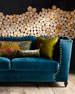 Image 2 of 5: Santiago Peacock Sofa