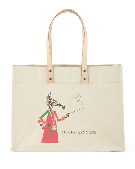 Muffy Extra-Large Personalized Tote