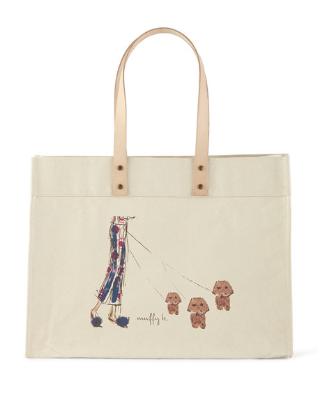 Muffy & Mortimer Extra-Large Personalized Tote