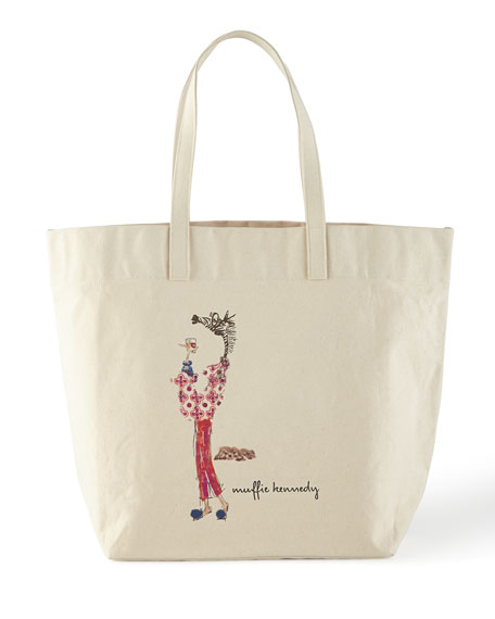 Muffy Cocktail Hour Personalized Big Bag