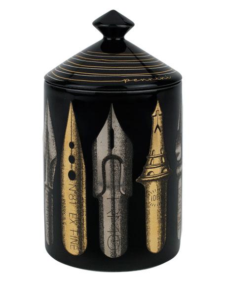 Fornasetti Pennini Nero Scented 300gr Candle