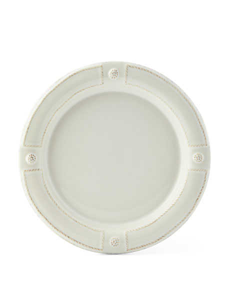 Berry & Thread French Panel Whitewash Dessert/Salad Plate
