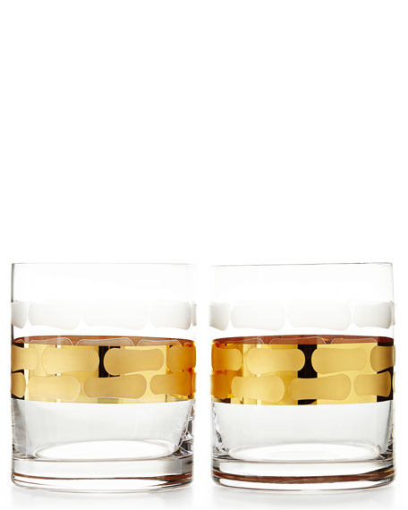 Michael Wainwright Truro Gold Highballs & Double Old-Fashioneds