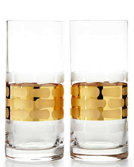 Truro Gold Highballs, Set of 2