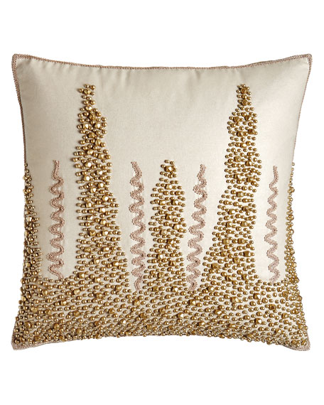 "Champaca Pillow, 20""Sq."