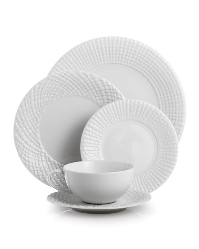 5-Piece Palm Dinnerware Place Setting