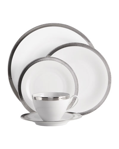 5-Piece Silversmith Dinnerware Place Setting