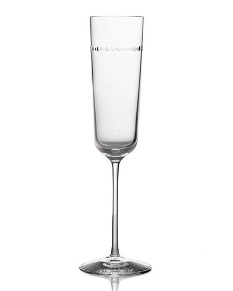 Michael Aram Hammertone Champagne Flute