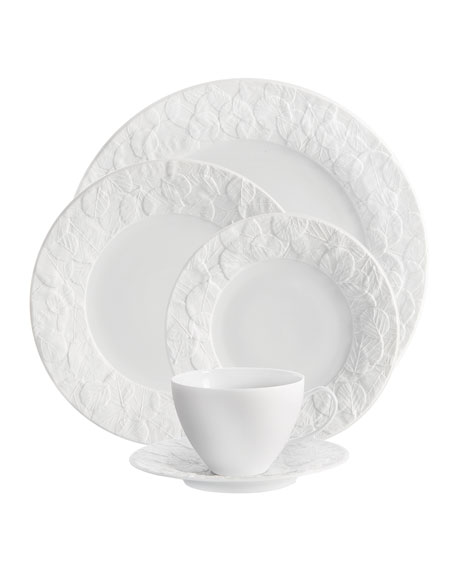 Michael Aram 5-Piece Forest Leaf Dinnerware Place Setting