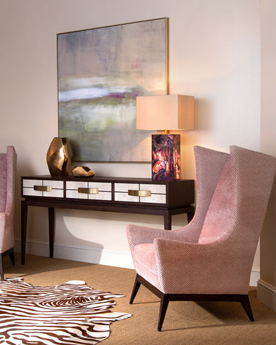 Mustang Three-Drawer Console Table