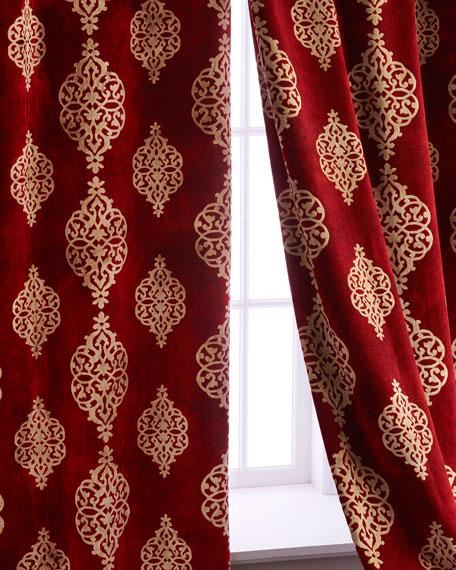 "Each 52""W x 108""L Camelot Curtain"