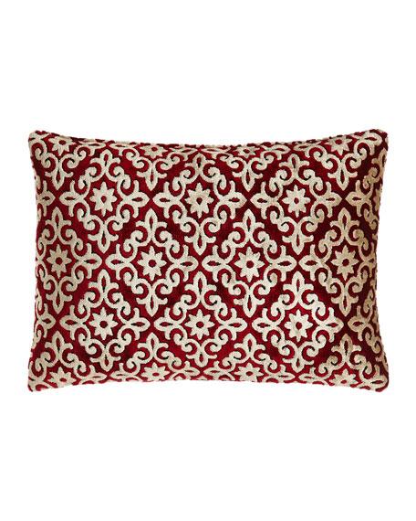"""Camelot Pillow, 13"""" x 18"""""""