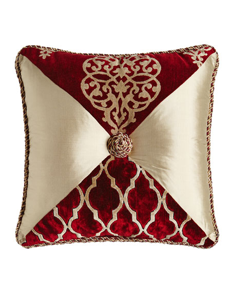 Austin Horn Classics Camelot Pieced Pillow, 18