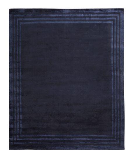 Ellington Border Rug, 4' x 6'