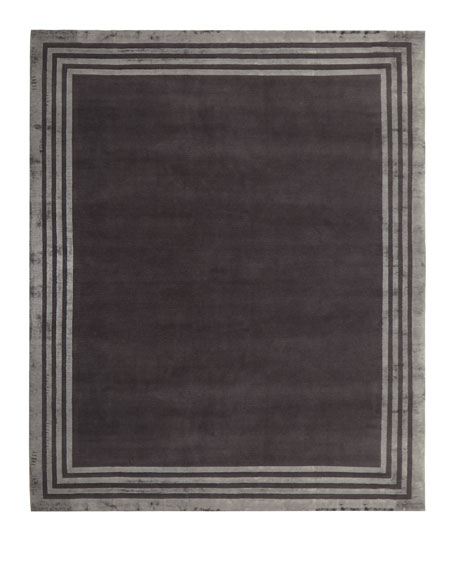Ellington Border Rug, 9' x 12'