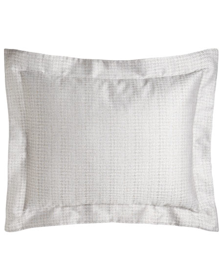 Home Treasures Standard Mayfair Houndstooth Sham