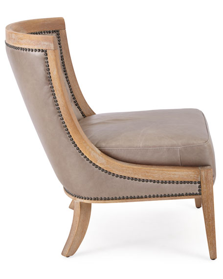 Wadsworth Tufted Leather Chair