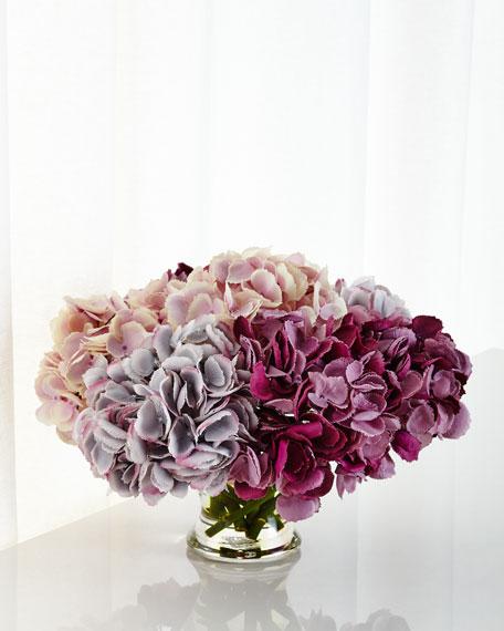 NDI Hydrangea Faux-Floral Arrangement