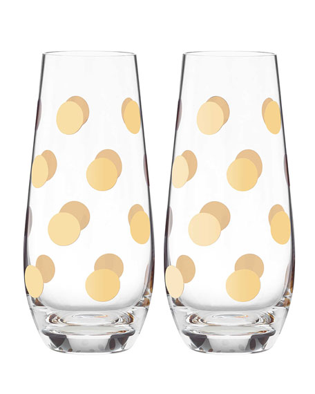 kate spade new york Pearl Place Stemless Champagne