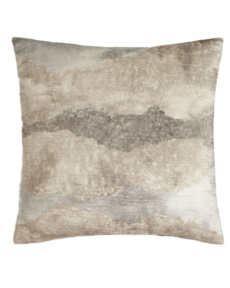 Eastern Accents Mist Ivory Pillow
