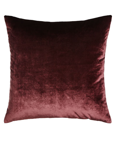 Venice Plum Knife-Edge Pillow