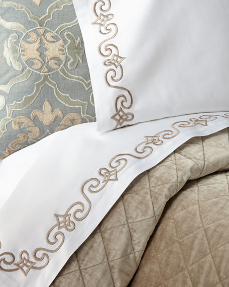 Two King Mozart Pillowcases