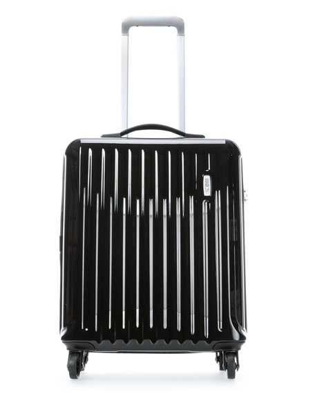 """Riccione Black 21"""" Carry-On Spinner Luggage"""