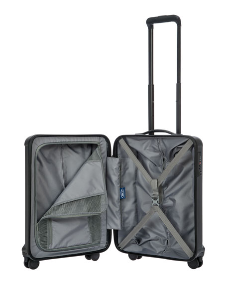 """Riccione Blue 21"""" Carry-On Spinner"""