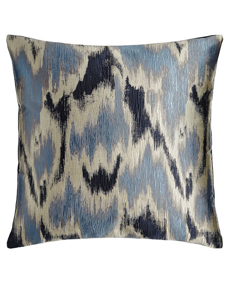 D.V. Kap Home Handcrafted Blue Pillows