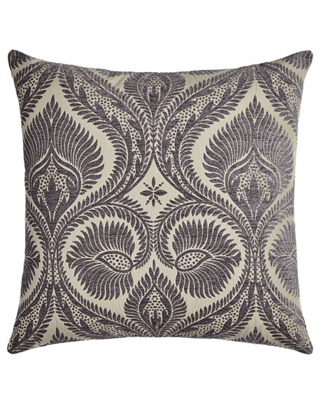 D.V. Kap Home Handcrafted Gray & Silver Pillows