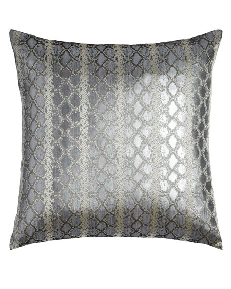 D.V. Kap Home Anaconda Silver Pillow