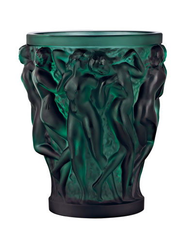 Bacchantes Small Green Vase