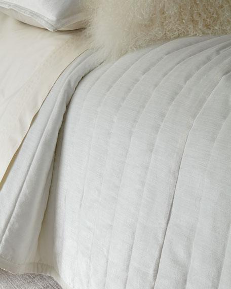 Donna Karan Home King Velvet Quilt