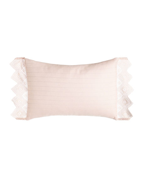 "Camilla Small Bolster Pillow, 14"" x 20"""