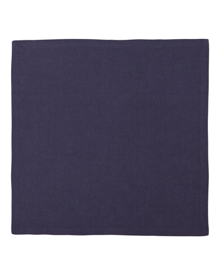 Mode Living Hamptons Gray Linen Napkins, Set of