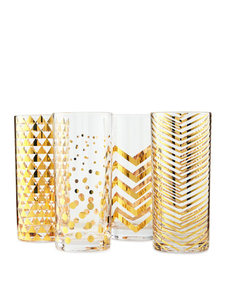 La Fete Highballs, 4-Piece Set