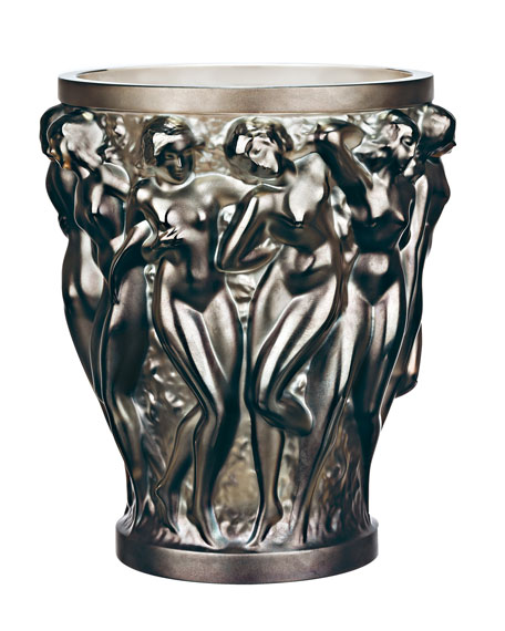 Bacchantes Bronze Vase