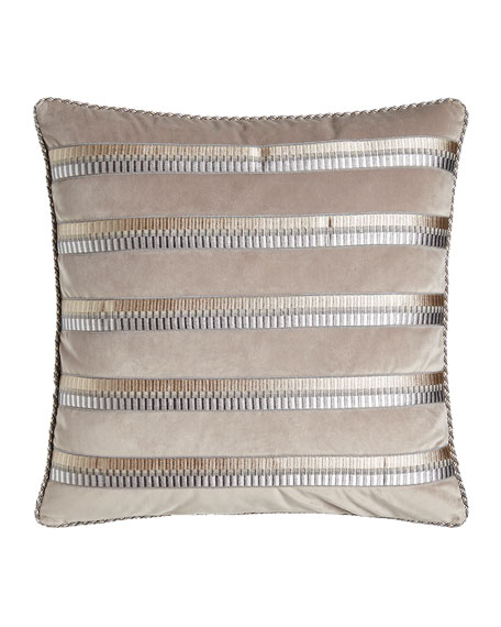 Austin Horn Classics Coppolino Velvet Pillow, 20