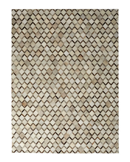 Ziggy Hairhide Rug, 8' x 11'