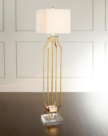 Neiman Marcus Lamps. . . Textured Gold Table Lamp. . Elise Floor ...