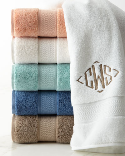Luxury Bathroom Accessories At Neiman Marcus - Supima towels for small bathroom ideas