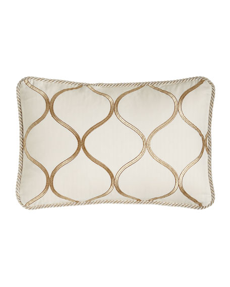 Isabella Collection Adele Ogee Pillow, 14
