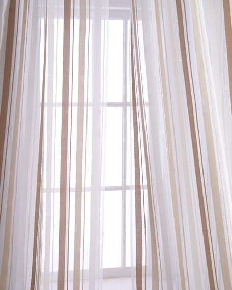"Each 50""W x 96""L Devon Curtain"