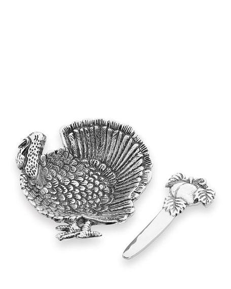 Star Home Designs Turkey Dip Dish Set   Neiman Marcus